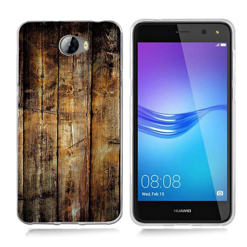 Case For Huawei Y5 ii Y5ii Cover/5A LYO-L21/Y6 II Compact TPU Coloful Soft Sky Landscape Painted Design Case Fundas B011