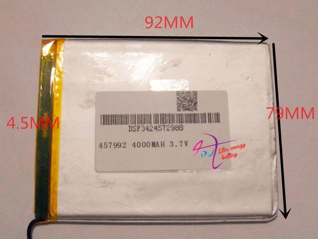 "Nuevo producto ""para tablet 4000 mah múltiples tamaño 92*79*4.5 MM"