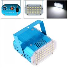 36LED Mini Stroboscope Flash Lamp with Sensitivity and Frequency Adjustment for KTV / Stage Party