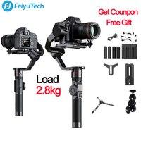 FeiyuTech Feiyu AK2000 3 оси Камера стабилизатор Gimbal для sony Canon 5D Mark 80D Panasonic GH5 Nikon D850 GH5 2,8 кг полезной нагрузки