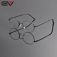 Eyeglasses Frames Men Eyeglass Frame Eyewear Round Metal Frame Glasses Fashionable Eyeglass Frames EV1155