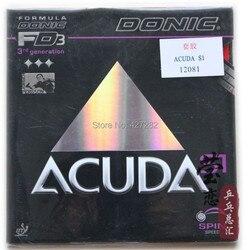 الأصلي Donic ACUDA S1 S2 S3 ACUDA S1 توربو تنس طاولة المطاط الجدول مضارب التنس مضرب الرياضة