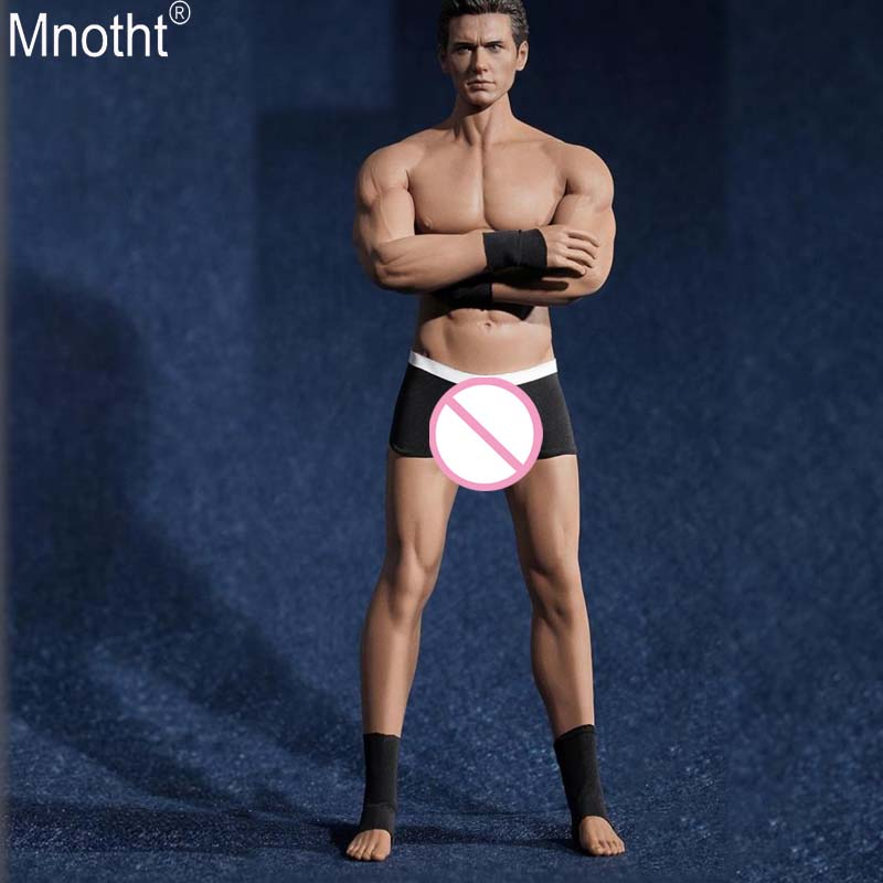 Mnotht 1/6 Seamless Steel Bone Muscle Metal Skeleton Body PL2016-M33 Aerobics Encapsulated Male Toy 12In Soldier Action Figure E skeleton unassembled bone collection with muscle markings