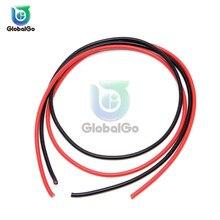 2 шт./лот 12AWG 14AWG 16AWG силиконовый провод ультра гибкий Тестовый Кабель высокая температура Электрический медный провод кабели