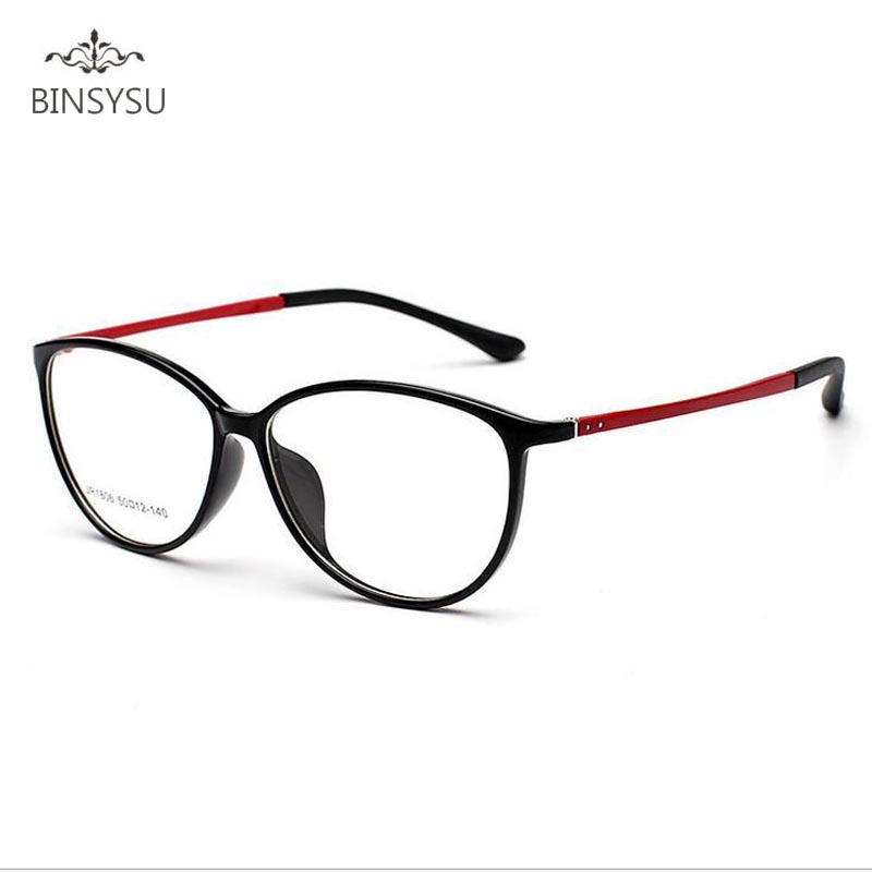 Femmes Lunettes Cadres Super léger TR90 Optique Lunettes Cadre pour Femmes  de Degré de Lunettes Montures de lunettes 96de64cee7fe