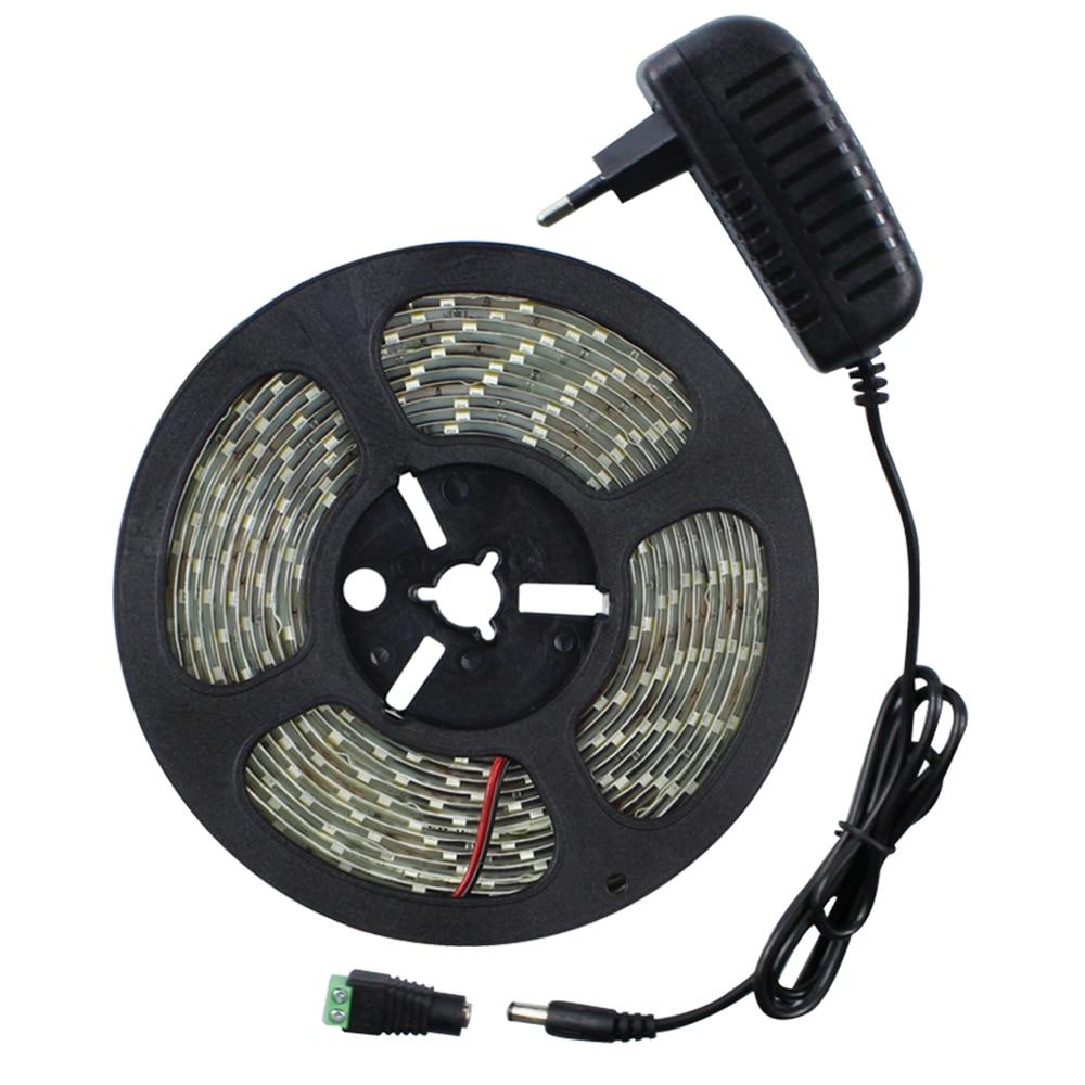 5630 SMD IP65 Vodotěsný 5M LED Strip 60LEDs / M Flexibilní DC 12V - LED Osvětlení