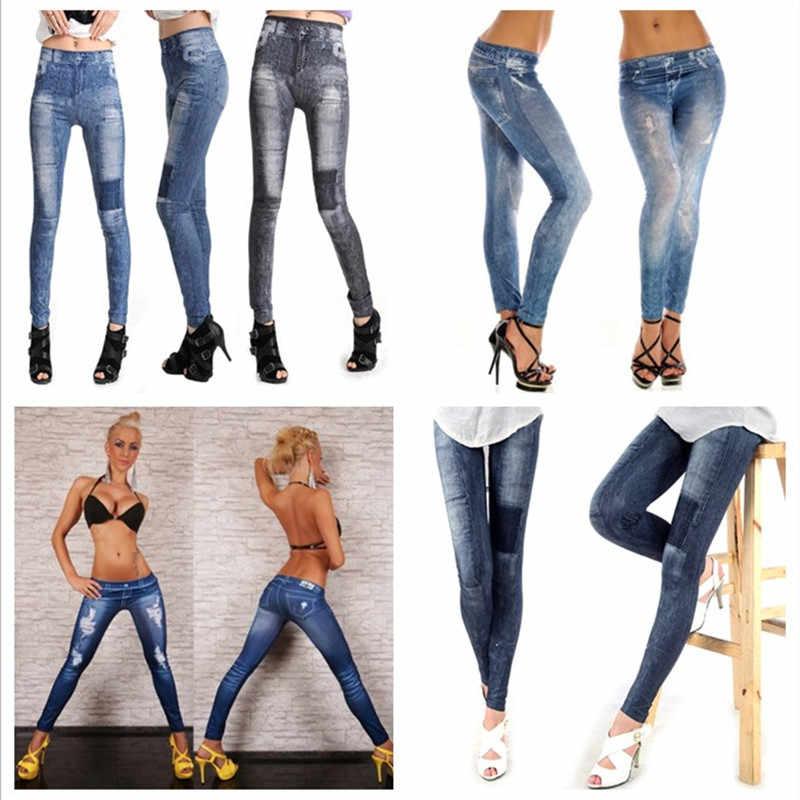Sportlegging Winter.Detail Feedback Questions About Jeans Legging Women S Casual Sport