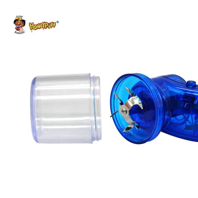 Electric Tobacco Grinder Handheld Chopper Plastic Herb Grinder Metal Crusher Tobacco Miller