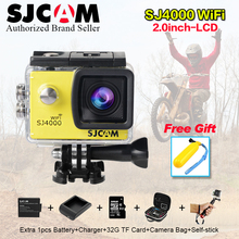 Newest Original SJCAM SJ4000 Wifi SJ 4000 2.0 LCD  Action Camera Upgrade SJ CAM 4000 wi fi 30m Waterproof Mini M20 Sport DV