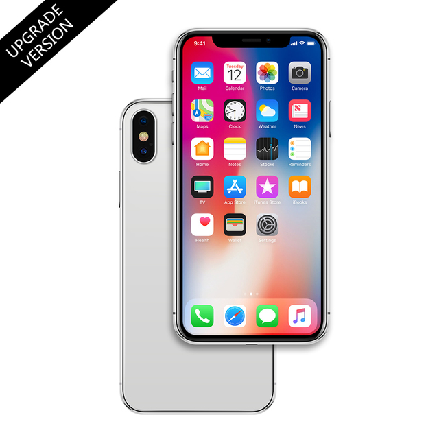 TPU Case + FREE Non-Working 1:1 Fake Metal Phone Display Model Mould Dummy  for iPhone X 8 7 6s Plus SE Dummy Case Display Toy