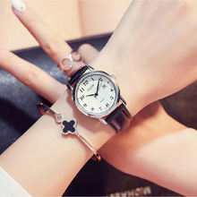 Women's Calendar Japan Quartz Arabic Digital Leather Band 30M Waterproof Watches Ladies Buckle Steel Back Analog watch Gift Box thomas smarttouch style