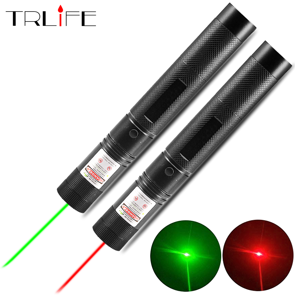 Laser Sight Pen Powerful Laser Sight Pen Presenter Light 5mW 532Nm Red Green Lazer Hunting Laser Device Teaching Outdoor Tool