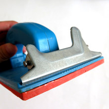 Handheld Sandpaper Frame Hand Grip Sandpaper Holder for Abrasive Tools LAD-sale(China)