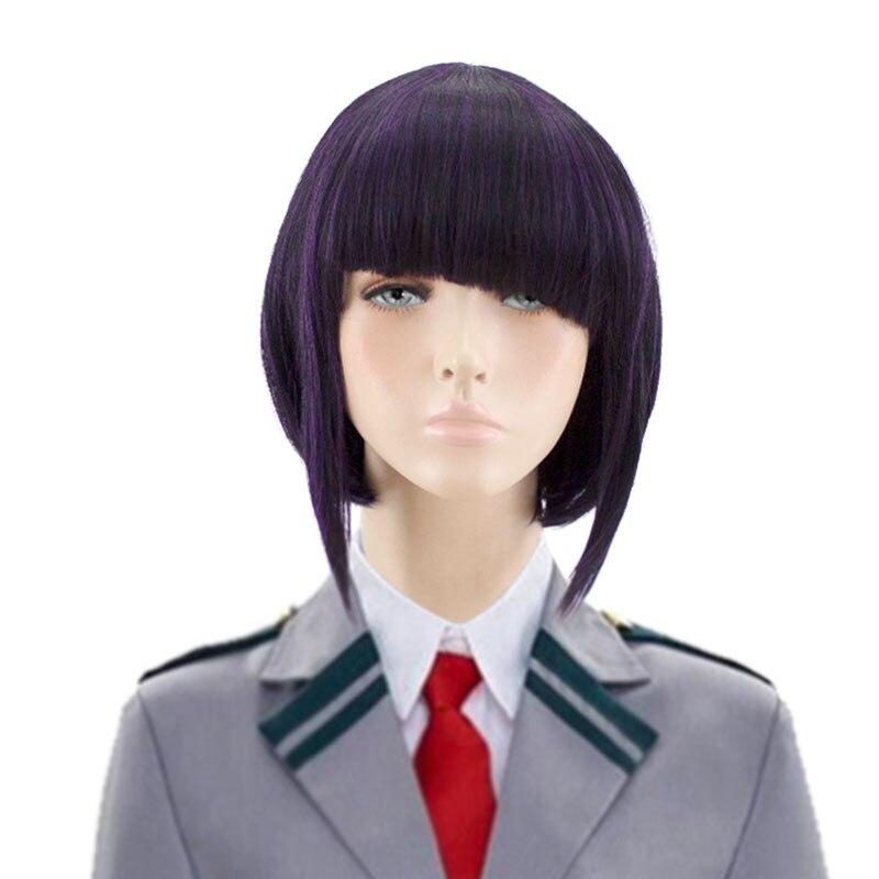 HSIU Kyoka Jiro Cosplay Wig My Hero Academy Costume Play Wigs Halloween Costumes Hair free shipping NEW High quality