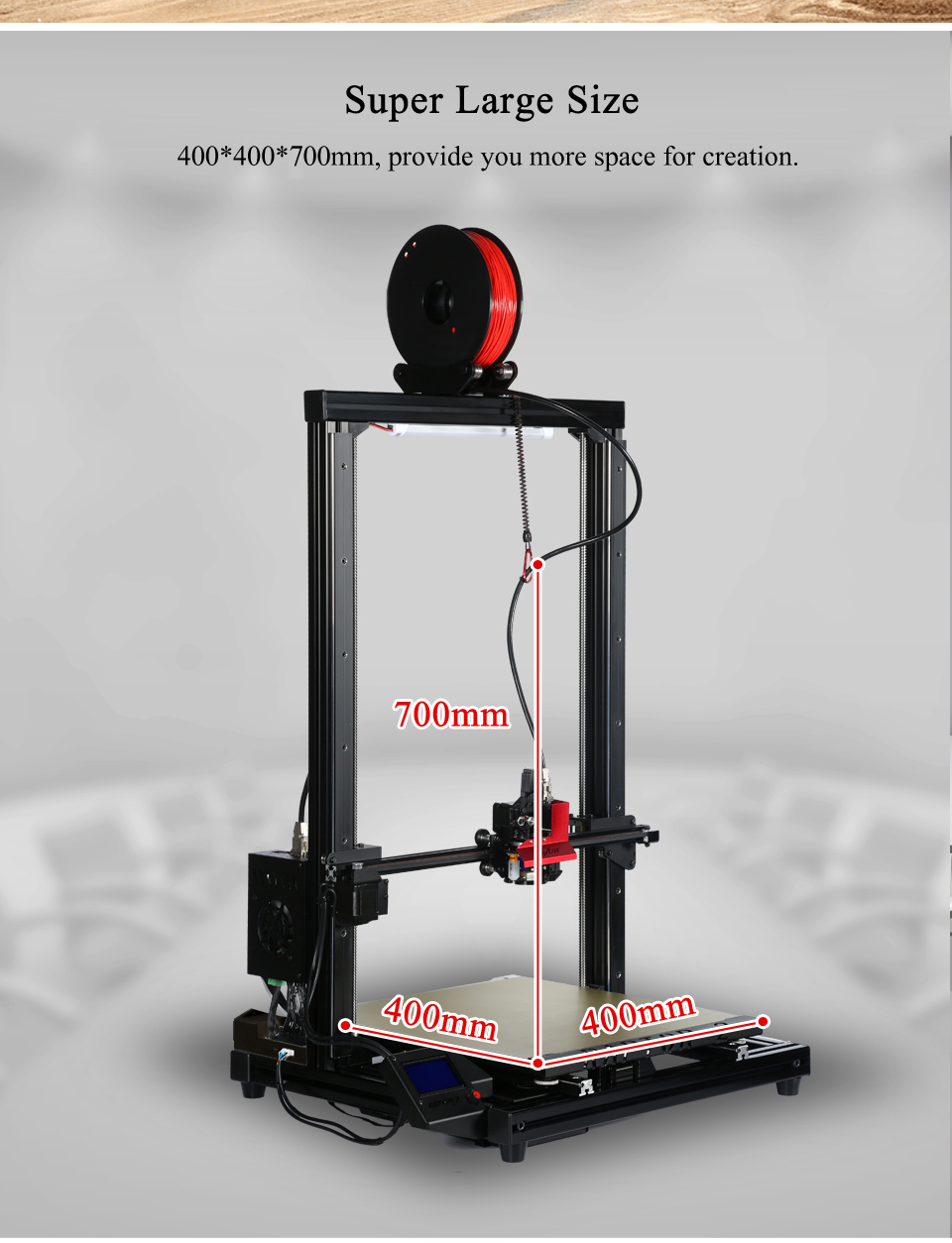 Vivedino Raptor 2+ Extended Version 3D Printer