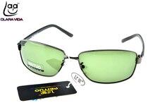 =CLARA VIDA= Custom Made NEARSIGHTED MINUS PRESCRIPTION Cool Mens Rectangle TR90 Temple  Designers Polarized sunglasses -1 to -6