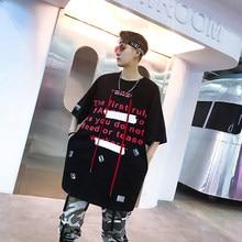 Diseñador Original camiseta marea masculina Stranger cosas personalidad  ciudad niño exquisita tendencia hip hop streetwear moda 8aff40b14a8
