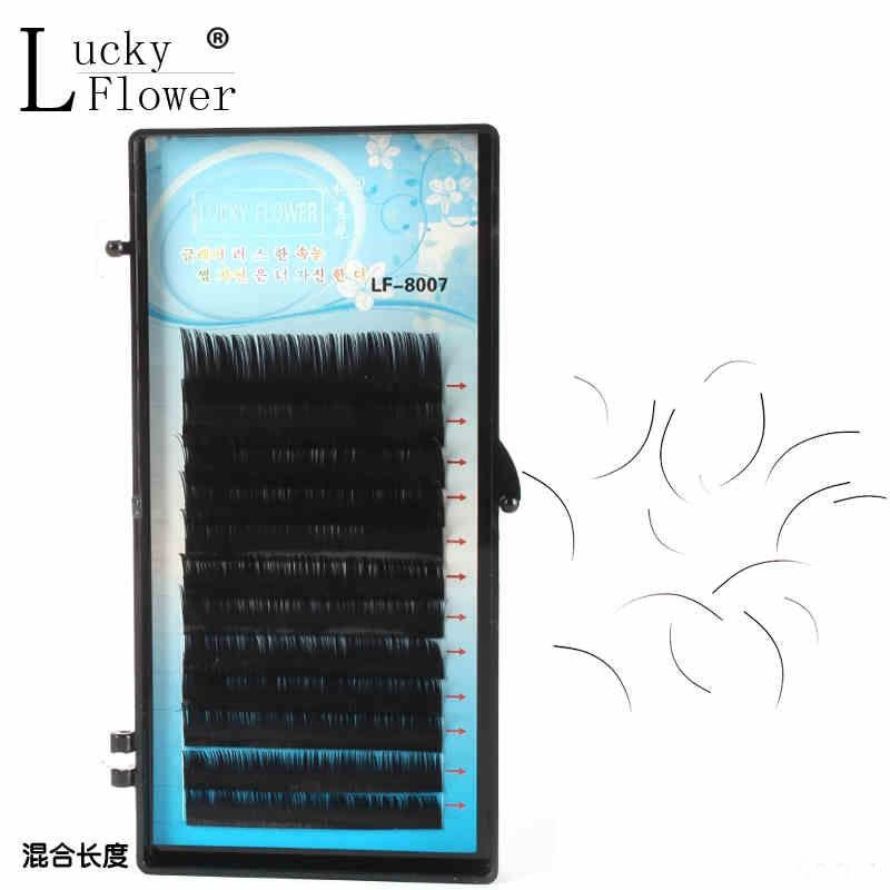 Kosa trepavica velika oka žica mješovita duljina guste kutije - Šminka - Foto 2