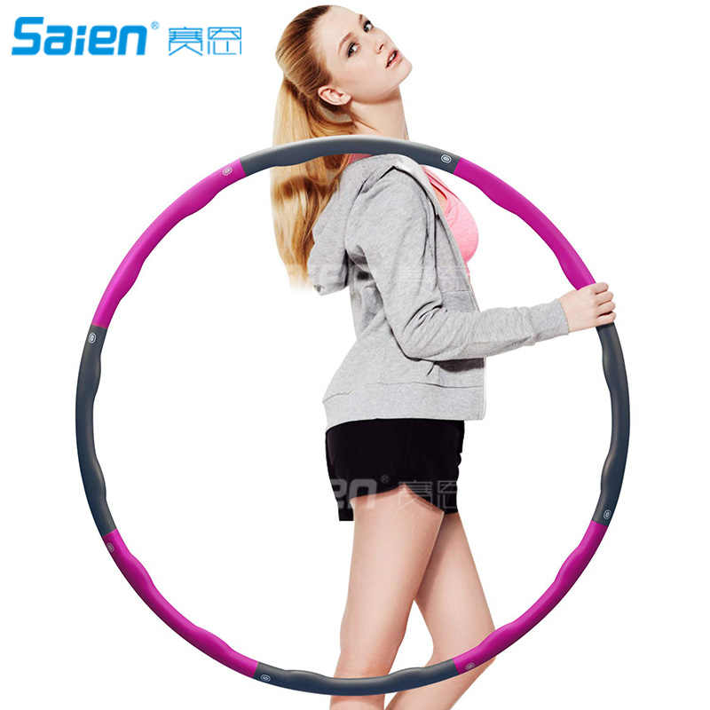 Fitness Splicing Sport Hoops,8 Section Detachable Design,2.4 Pound Sport Hoops Does Not Cause The Pressure of The Lumbar Spine