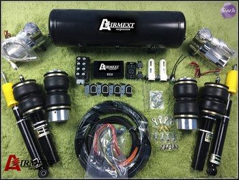 AIRMEXT Air suspension whole kits pneumatics tunning vehicle kits air spring+coilover assemblyair management 180sx led ヘッド ライト