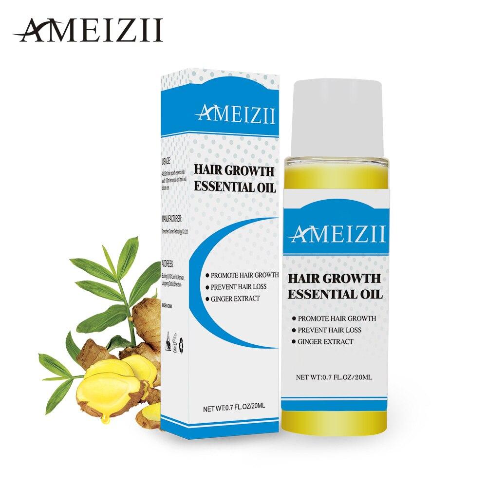 AMEIZII Hair Growth Essential Oil Essence Natural Hair Loss Liquid Hair Care Beauty Treatment Preventing Dense Hair Growth Serum