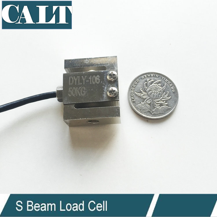 3KG Micro Small Size Compression and Tension Force Sensor S Beam Type Load Cell High Precision Weight senor 5 10 20 30 50 100 200 300 500 1000 2000 3000 kg 1 2 3 ton micro load cell button small compression weight sensor