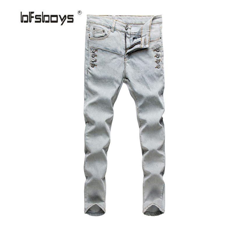 Classic 2016 fashion slim mens Skinny Ripped jeans,Famous Brand Men robin Jeans Denim casual jeans men
