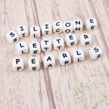 Tyry. hu clipes de chupeta personalizados, 500 peças de silicone letras nome personalizado bpa livre de silicone acessórios de manequim