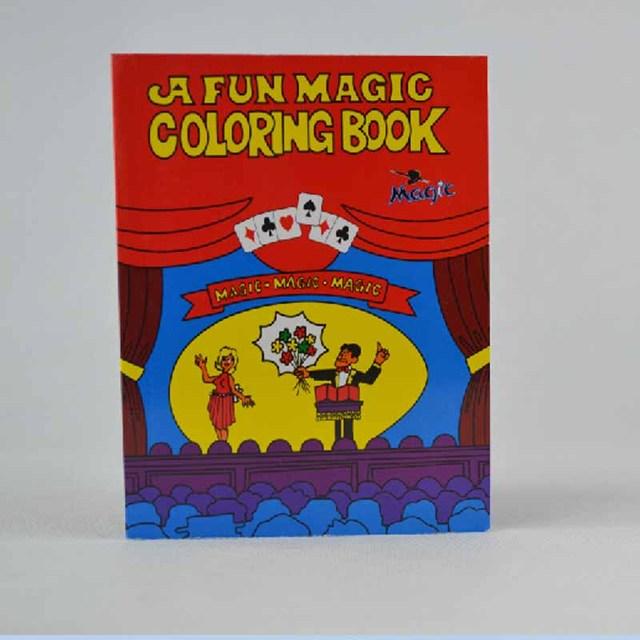 A Fun Magic Coloring Book medium size magic tricks,gimmick,best for ...