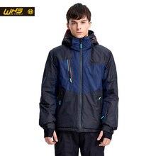 WHS hot Men Snow Ski Jacket Brand Outdoor windproof waterproof coat Man snow clothes breathable sport jackets hiking sportswear