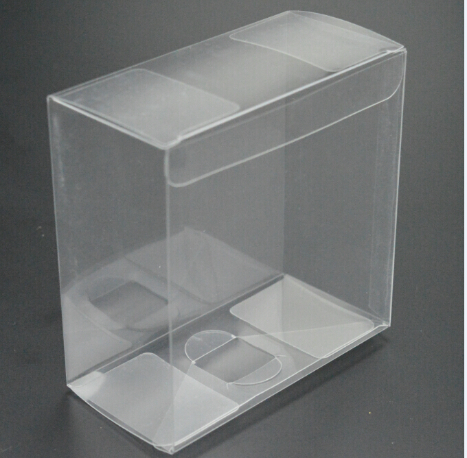 Size 9 11 13cm Gifts Pillow Box Plastic Clear Pvc