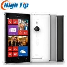 Разблокированный мобильный телефон Nokia Lumia 925 сенсорный экран Windows 4,5 дюймов 8.7MP wifi gps 16 Гб отремонтированный