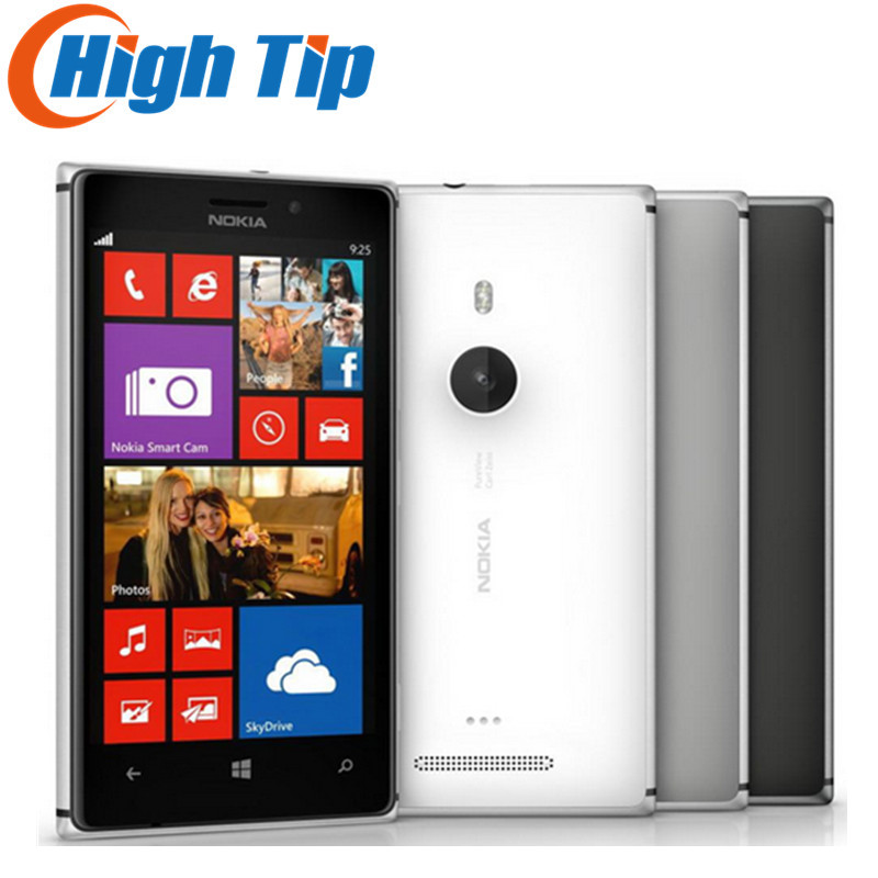 Original Unlocked Nokia Lumia 925 Mobile Phone Windows Touch screen 4 5 inch 8 7MP WIFI
