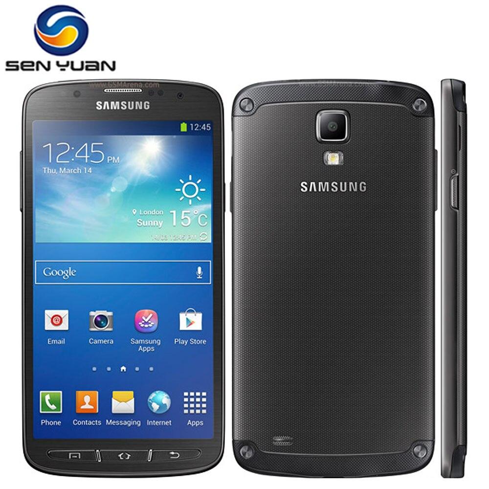"""Цена за Оригинальный Samsung Galaxy S4 Active i9295 Мобильный Телефон Четырехъядерный 16 Г ROM 2 Г RAM 5.0 """"Сенсорный Экран 4 Г Сотовый телефон"""
