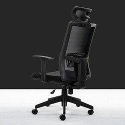 مريح التنفيذي كرسي دوار كرسي الكمبيوتر رفع تعديل مسند bureaustoel ergonomisch sedie ufficio