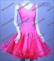 Women Latin Dance Wear,Girls Salsa Competition Dress Ladys Tango Samba Rumba Chacha Dance Dress,Dance Dress Latin dress