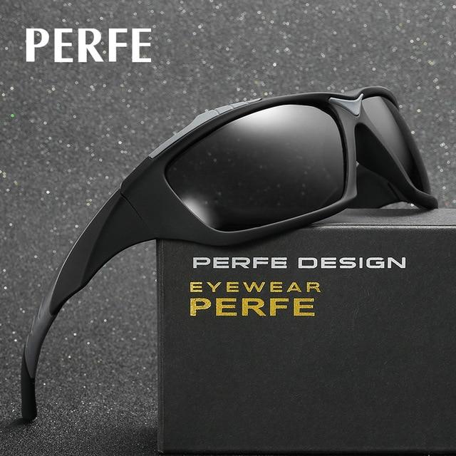 1d80e51504e6 2018 New Men Sports Fishing Running Goggle Polarized Sunglasses Vintage Eyewear  Accessories Outdoor Biking Sun Glasses For Male