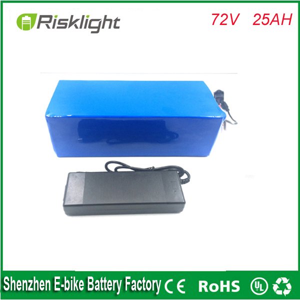 ebike lithium battery 72v 25ah 3000w electric  bicycle lithium ion battery pack for 72V 3500w kit electric bike with BMS+Charger 24v 15ah lithium battery pack 24v 15ah battery li ion for 24v bicycle battery pack 350w e bike 250w motor with 15a bms charger