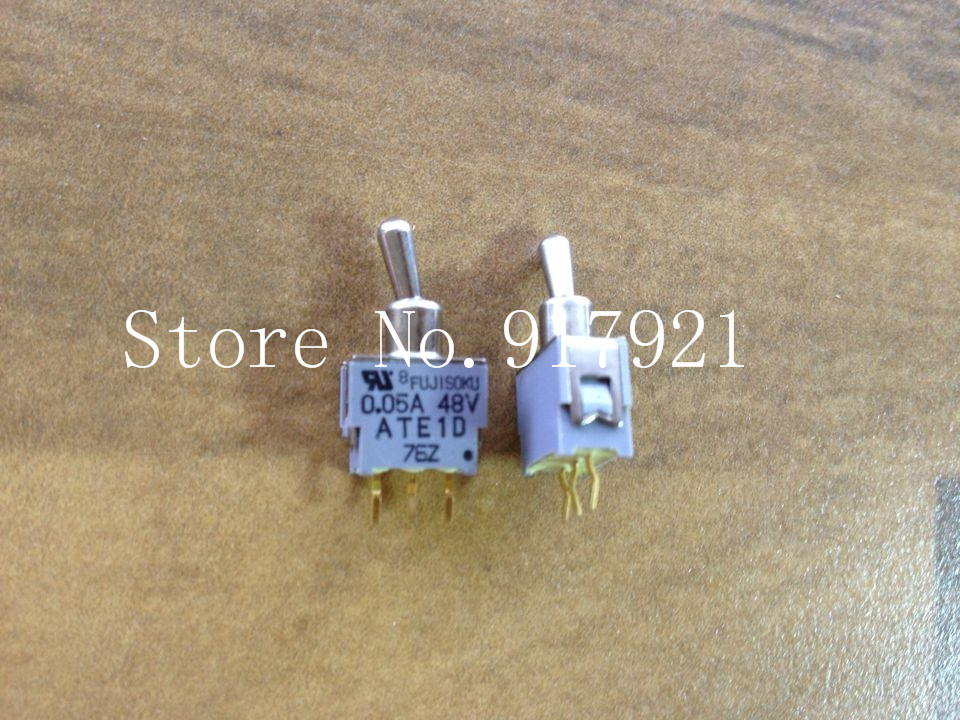 [ZOB] FUJISOKU ATE1D 0.05A 48V Fuji toggle switch tripod gold plated 76Z genuine original  --20pcslot