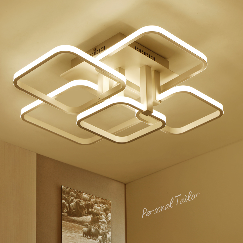 New Modern Led Ceiling Lights For Living Room Bedroom Ceiling Lamp lamparas de techo AC85~265V Home decoration lighting fixtures modern led ceiling lights for home lighting plafon led ceiling lamp fixture for living room bedroom dining lamparas de techo