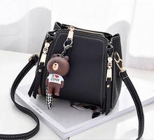 Ruil Women Color splicing Little bee Bag Fashion Zipper Designer Handbag Casual Shoulder Messenger Bag New Sac Femme /29*20*10CM