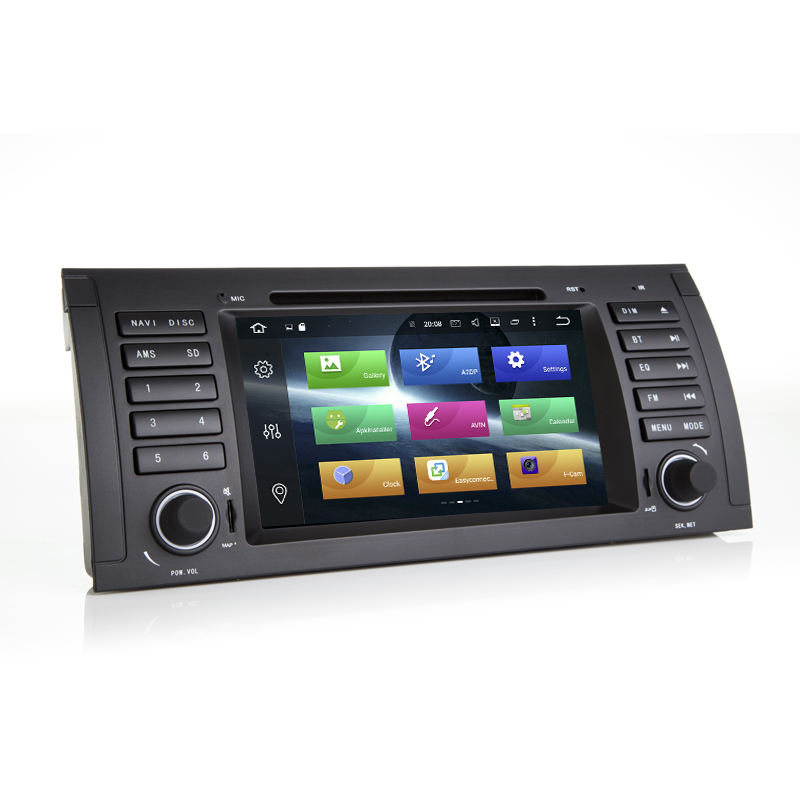 Discount HIRIOT 7 IPS Android 8.0 CAR DVD GPS Player For BMW E39 E53 1995-2003 M5 X5 Octa 8 Core 4G RAM 32G ROM Radio BT Map DAB+TPMS SD 4