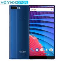 Original Vernee Mix 2 Helio P25 6GB 64GB Smartphone 6.0″ 18:9 FHD 4200mAh 9V 2A 13MP Dual Camera 4G LTE Android 7.0 Mobile Phone