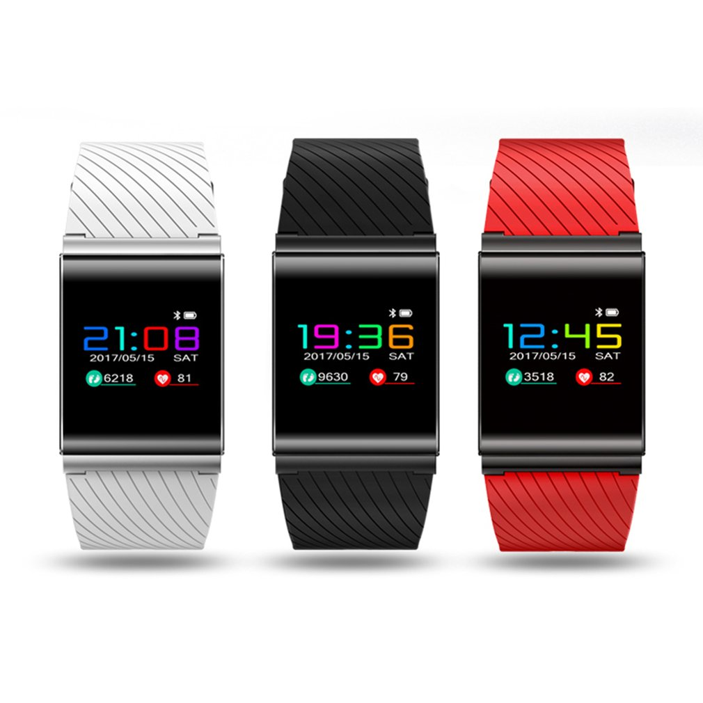 X9 Colorful OLED Bluetooth Smart Wristband Blood Pressure Heart Rate Monitor Fitness Pedometer Sports WatchX9 Colorful OLED Bluetooth Smart Wristband Blood Pressure Heart Rate Monitor Fitness Pedometer Sports Watch