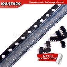 10pcs MIC5205-5.0YM5 MIC5205-5.0 SOT MIC5205 5V KB50 SOT23-5 original novo