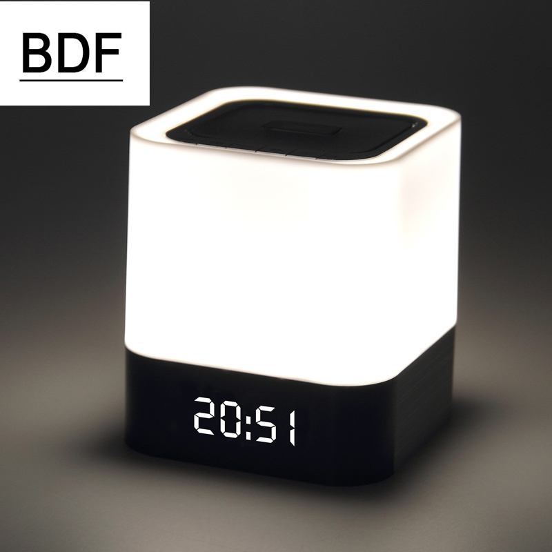 BDF DY28 Mini Touch LED Portable Bluetooth Wireless Speaker