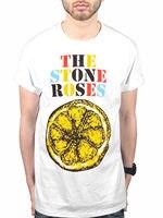 2017 Мужская Мода Stone Roses логотип лимонного разноцветный Футболка Love распространяется одна любовь футболка с принтом Hipster мужская Топы коррек...