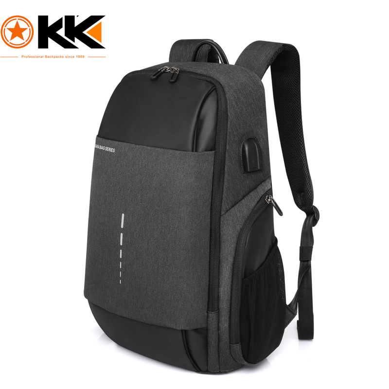 KAKA Rugzak Brand Design USB Charging Men Backpack 15 inch Laptop Bag Backpack Male Waterproof Schoolbag Backpack Mochila 2017 new kaka brand men s backpack bag brand 15 6 inch laptop notebook mochila for men waterproof back pack school backpack bags