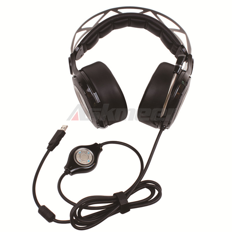 XIBERIA T18 Stereo Gaming Headphones with Microphone 7.1 Surround Sound Deep Bass Gamer Headset for Computer Best casque (9)
