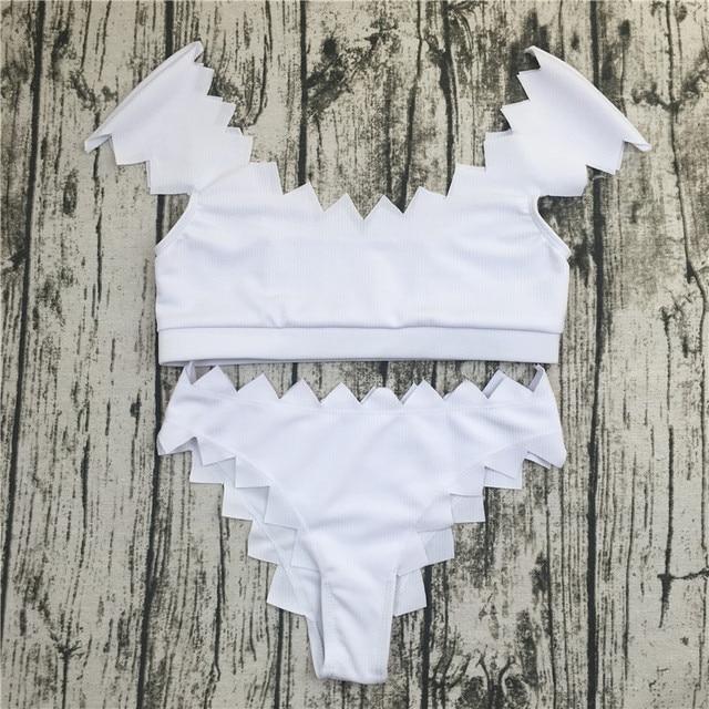 Women's Sea Foam White Bikini Set 2